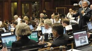 Our legislators at work